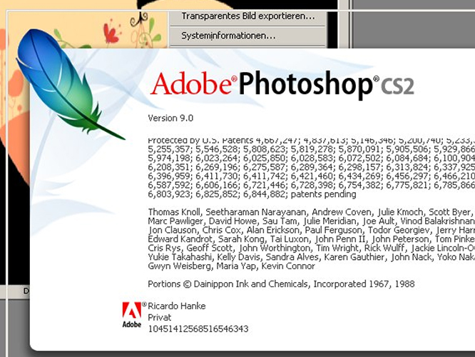 Photoshop CS2 on ReactOS