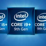 9th Gen Core i Series