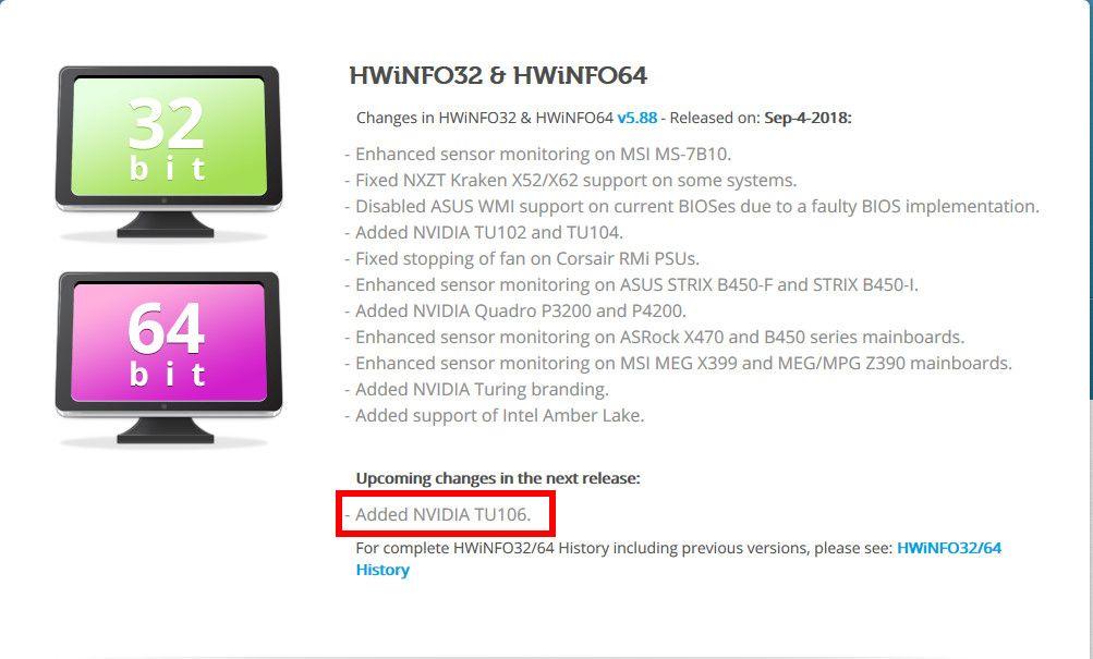 HWinfo TU106